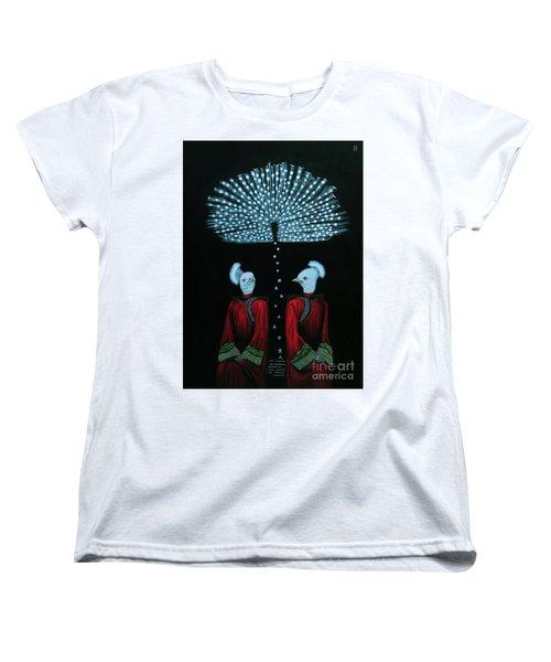 Mirror Women's T-Shirt (Standard Cut) by Fei A