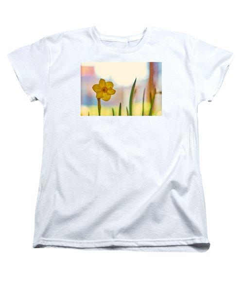 Miss Yellow Women's T-Shirt (Standard Cut) by Tgchan