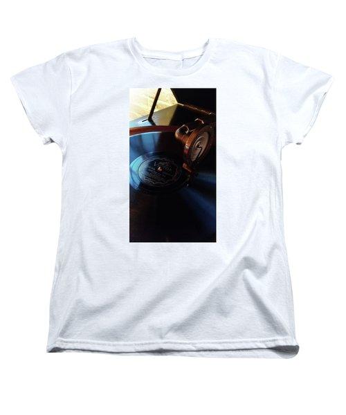 Miss You - Fox Trot Women's T-Shirt (Standard Cut) by Michelle Calkins