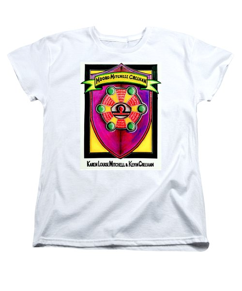 Mitchell-creehan Ancestral Healing Family Crest Women's T-Shirt (Standard Cut) by Ahonu