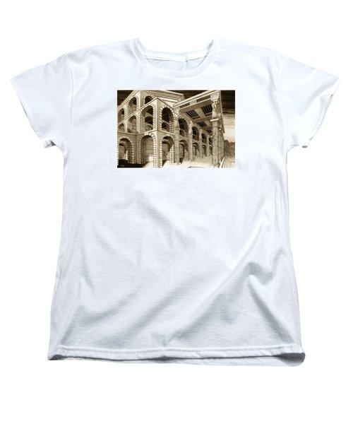 Mithlond Gray Havens Women's T-Shirt (Standard Cut) by Curtiss Shaffer