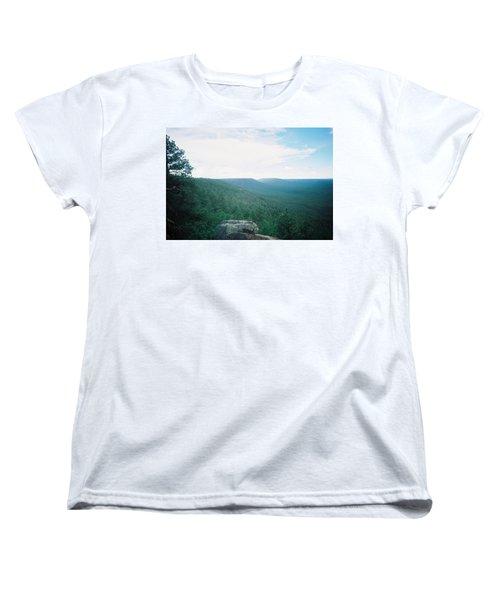 Mogollon Rim - Arizona Women's T-Shirt (Standard Cut) by Pamela Walrath