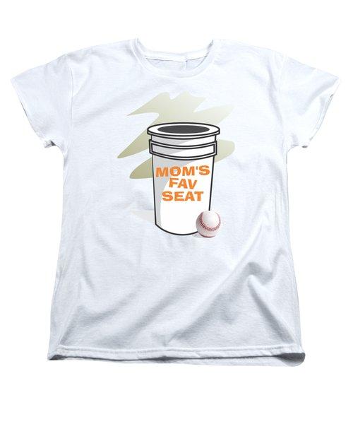 Mom's Favorite Seat Women's T-Shirt (Standard Cut) by Jerry Watkins