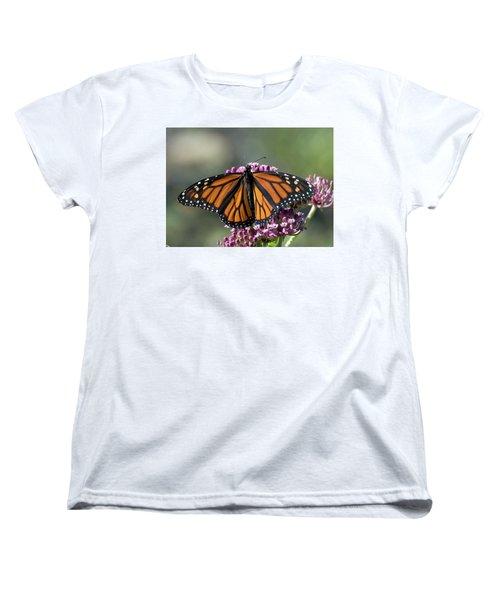 Monarch Butterfly Women's T-Shirt (Standard Cut) by Stephen Flint