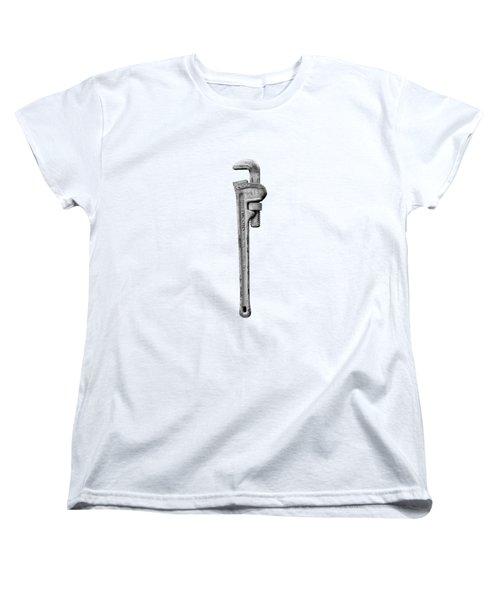 Moncky Wrench Bw Women's T-Shirt (Standard Fit)