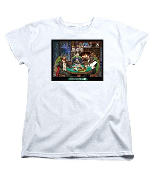 Monster Poker Women's T-Shirt (Standard Cut) by Glenn Holbrook