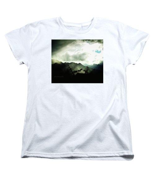Moody Weather Women's T-Shirt (Standard Cut)