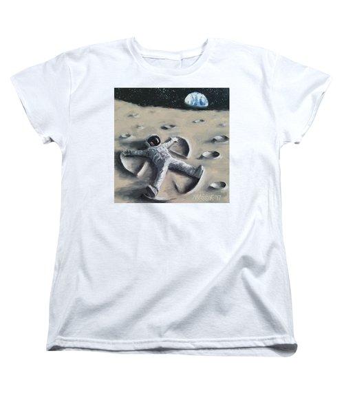 Moon Angel Women's T-Shirt (Standard Cut)
