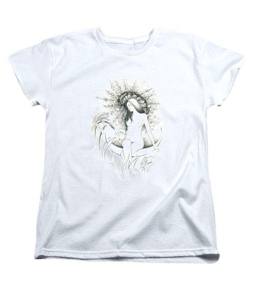 Moon Dew Women's T-Shirt (Standard Cut) by Anna Ewa Miarczynska
