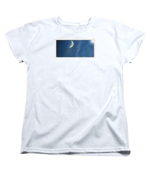 Moon Roof  Women's T-Shirt (Standard Cut) by Laura Ragland