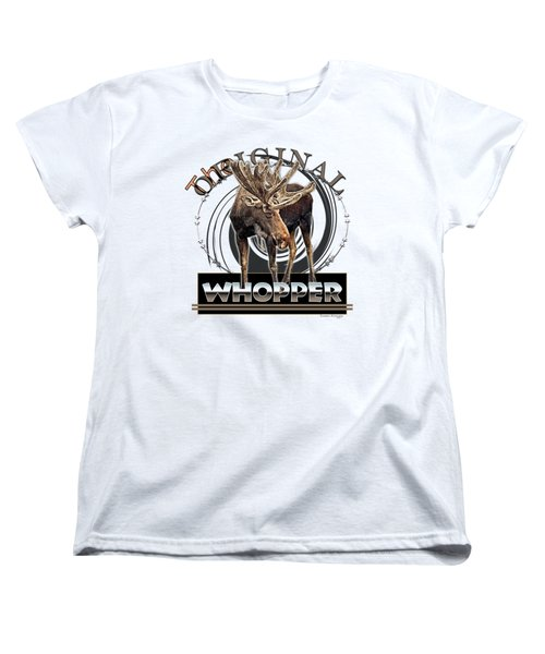 Moose Whooper Women's T-Shirt (Standard Cut)