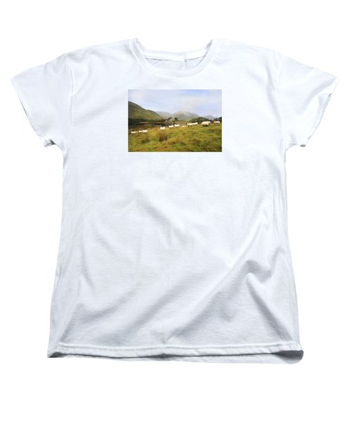 Morning At Kilchurn Women's T-Shirt (Standard Cut) by Roy  McPeak