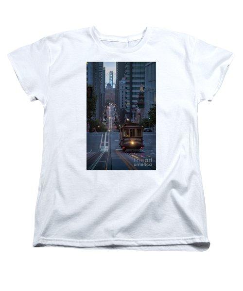 Morning Commute Women's T-Shirt (Standard Cut) by JR Photography