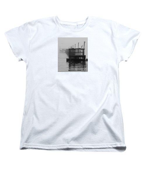 Women's T-Shirt (Standard Cut) featuring the photograph Morning Meeting by Joe Jake Pratt