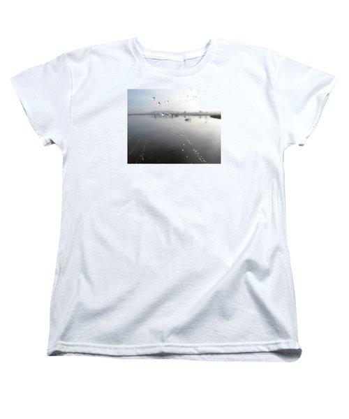 Morning Pearls Women's T-Shirt (Standard Cut) by I'ina Van Lawick