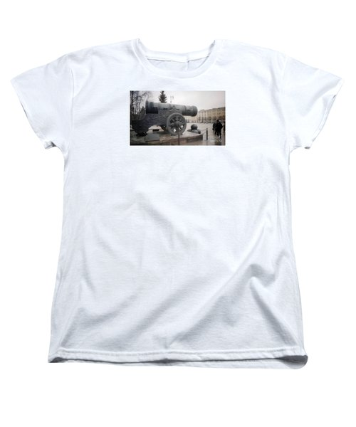 Moscow Cannon Relic Women's T-Shirt (Standard Cut) by Ted Pollard