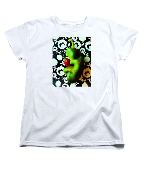 Women's T-Shirt (Standard Cut) featuring the photograph Mother And Child by Shawna Rowe