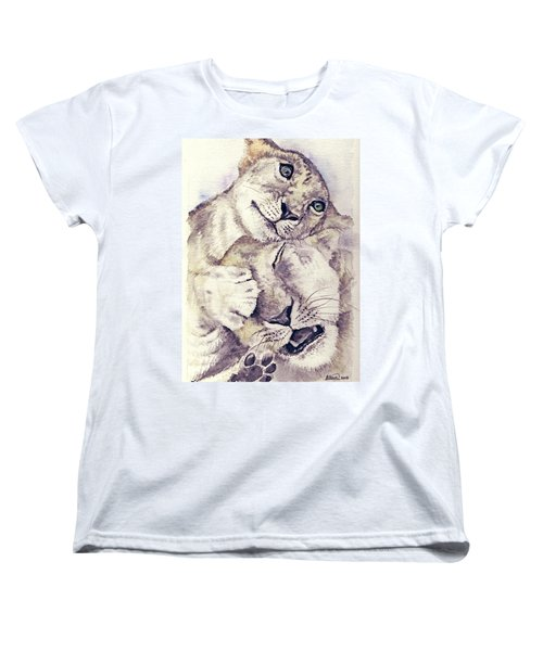 Mothers Love Women's T-Shirt (Standard Cut) by Alban Dizdari
