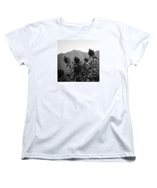 Mountains And Vegetation Women's T-Shirt (Standard Cut)