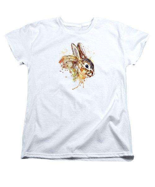 Mr. Bunny Women's T-Shirt (Standard Cut) by Marian Voicu