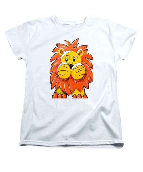 Mr. Lion Women's T-Shirt (Standard Cut) by Tami Dalton