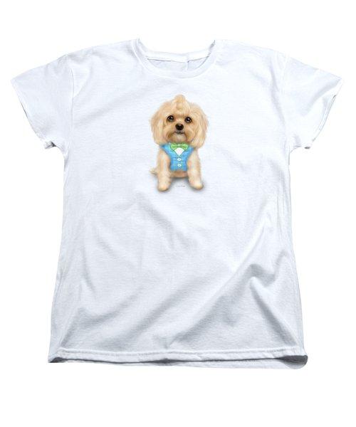 Mr.toby Waffles Women's T-Shirt (Standard Cut) by Catia Cho