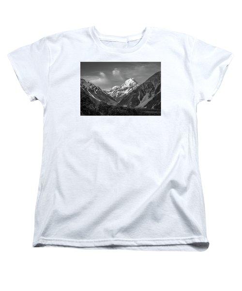 Mt Cook Wilderness Women's T-Shirt (Standard Cut) by Racheal Christian