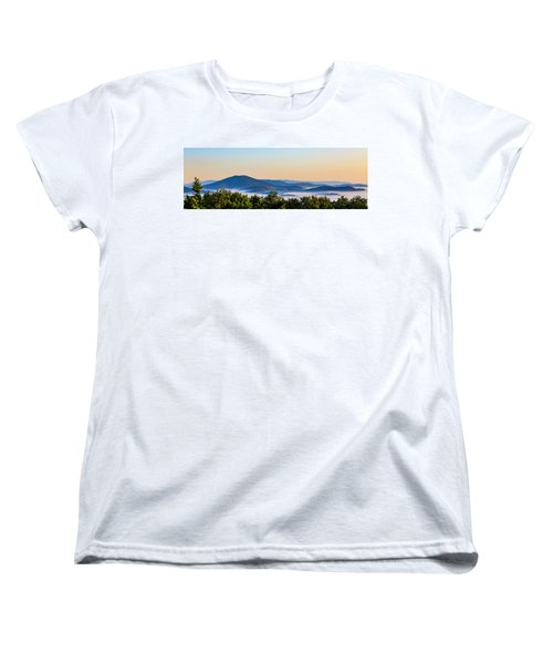 Mt. Jefferson Cloud Lake Women's T-Shirt (Standard Cut) by Dale R Carlson