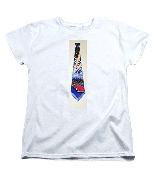 Mulholland Drive Women's T-Shirt (Standard Cut) by Tracy Dennison