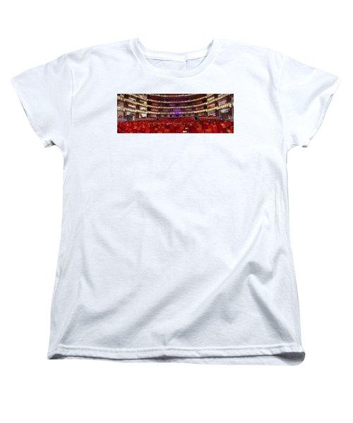 Women's T-Shirt (Standard Cut) featuring the photograph Murrel Kauffman Theater by Jim Mathis