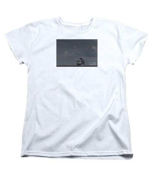 Mv Britannia Women's T-Shirt (Standard Cut) by David  Hollingworth