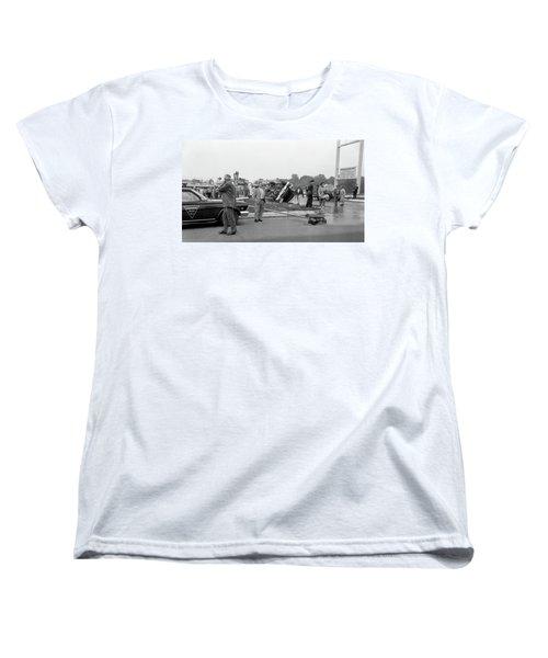 Mva At Shopping Center Women's T-Shirt (Standard Cut) by Paul Seymour