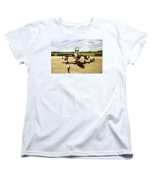 My Baby F-105 Women's T-Shirt (Standard Cut) by Peter Chilelli