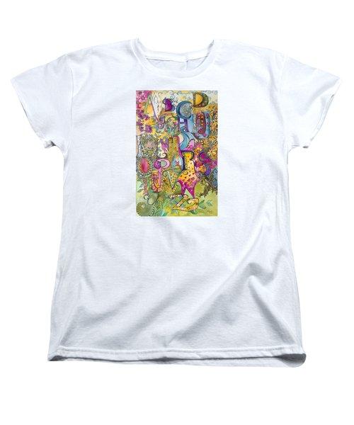 My Garden Women's T-Shirt (Standard Cut) by Claudia Cole Meek