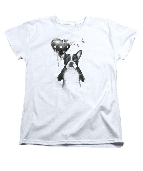 My Heart Goes Boom Women's T-Shirt (Standard Fit)