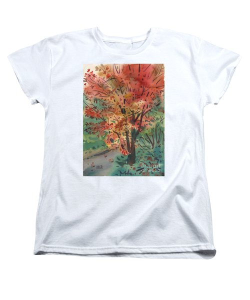 My Maple Tree Women's T-Shirt (Standard Cut) by Donald Maier