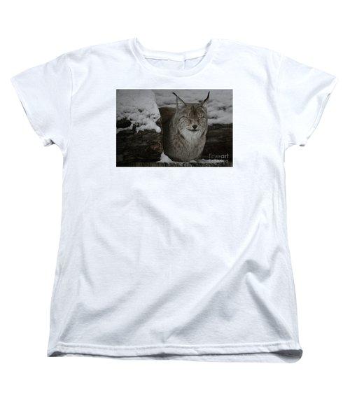 Women's T-Shirt (Standard Cut) featuring the photograph My Robert Bateman by Brad Allen Fine Art