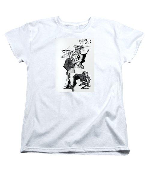My Shadow And I Women's T-Shirt (Standard Cut) by Yelena Tylkina