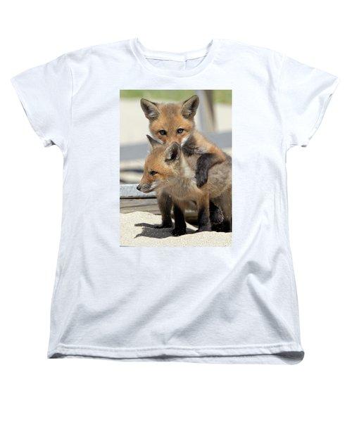 My Sibling Women's T-Shirt (Standard Cut) by Stephen Flint