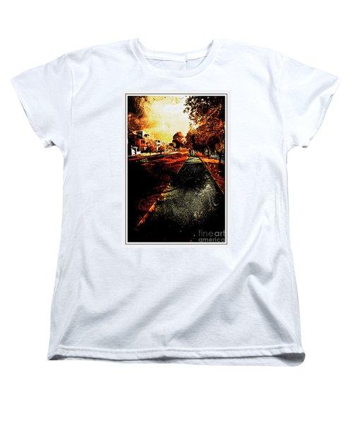 My Neighborhood Women's T-Shirt (Standard Cut) by Al Bourassa
