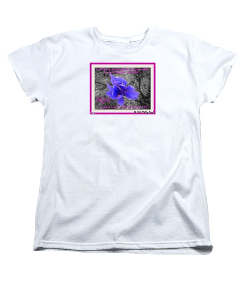 Women's T-Shirt (Standard Cut) featuring the digital art My Well-being by Holley Jacobs