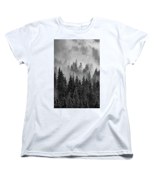 Women's T-Shirt (Standard Cut) featuring the photograph Mystic  by Dustin LeFevre
