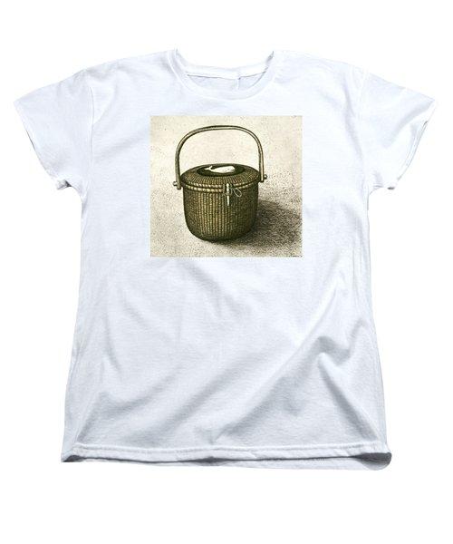 Nantucket Basket Women's T-Shirt (Standard Cut) by Charles Harden