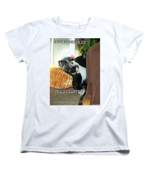 Naptime Women's T-Shirt (Standard Cut) by Jewel Hengen