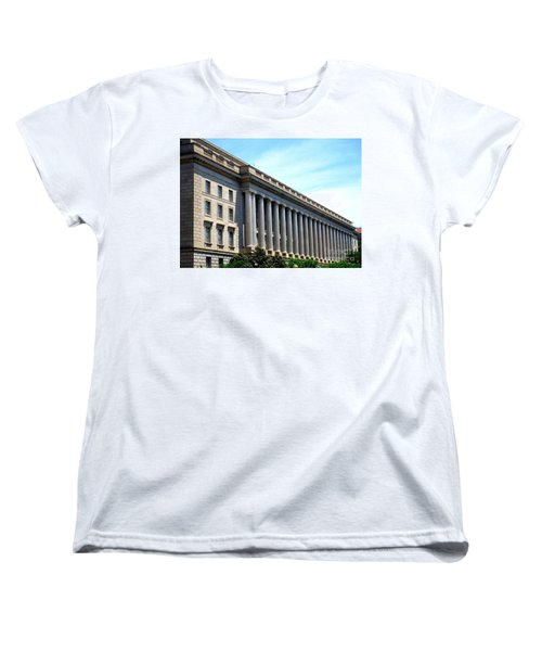 National Archives 2 Women's T-Shirt (Standard Cut) by Randall Weidner