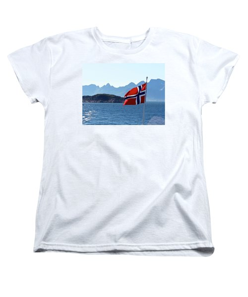 National Day Of Norway In May Women's T-Shirt (Standard Cut) by Tamara Sushko