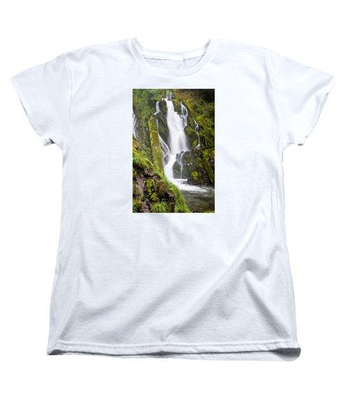 National Falls 1 Women's T-Shirt (Standard Cut) by Greg Nyquist