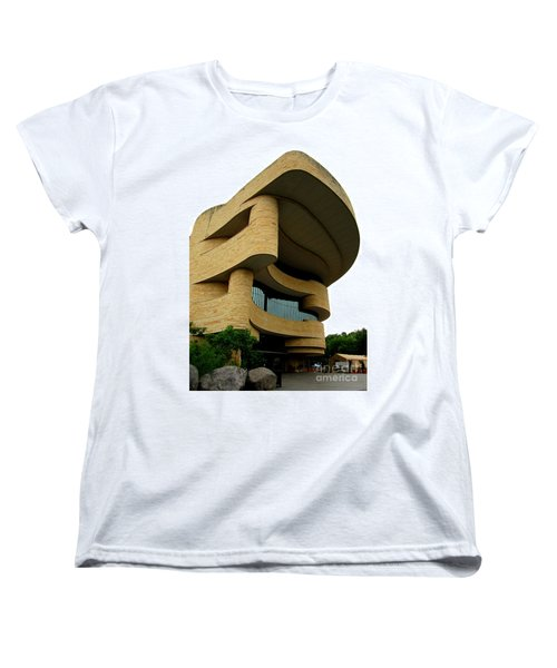 National Museum Of The American Indian 1 Women's T-Shirt (Standard Cut) by Randall Weidner