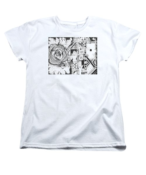Nature Rules Aka That Which Remains Women's T-Shirt (Standard Cut) by Helena Tiainen