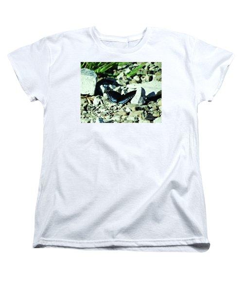 Nature's Cloak Of Color Women's T-Shirt (Standard Cut) by J L Zarek